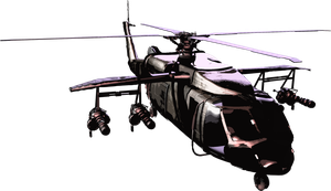CGI Helicopter by TheWTFage