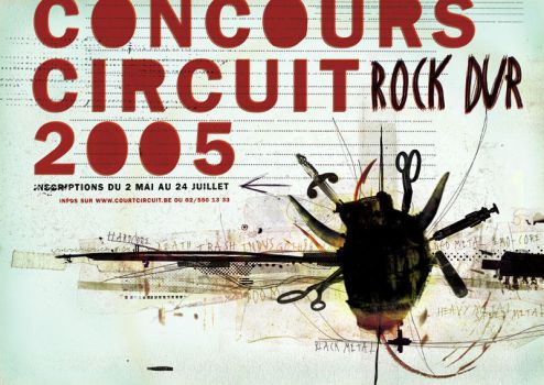 Concours circuit 2005 flyer by Never-effects