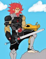 Lion 0 thundercats 2014 Speed Paint by mack901