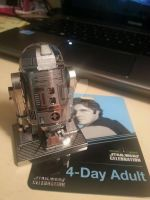 R2-D2 Model by MaliForger894