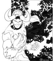 Loki, God of Mischief sketch by SpiderGuile