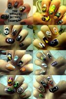 The Avengers Nail Art: Assembled! by aniapaluch