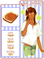 Love Sandwich: Kaya by unLOgicaL