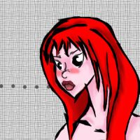 Red head girl by Shalada