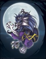 Darkstalkers Tribute:  Talbain by zillabean