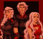 The Dragon Has Three Heads by naomi-makes-art73