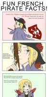 APH - French Pirates by cutepiku