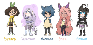 Adopts 15: OPEN by orchidi