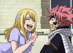 Natsu and Lucy. (LadyGt) by AlynColt