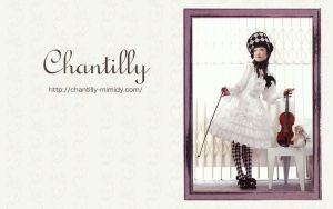 Chantilly wallpaper by guillaumes2