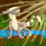Cascading light : contest by Red-Dragon-Blaze