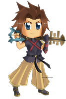 Kingdom Hearts - Terra Chibi by Kanokawa