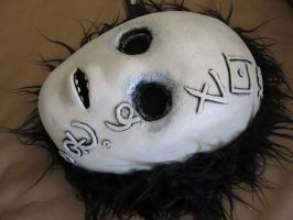 Creepy Doll Face Mask commission for Toay by Deep-Fried-Flinch
