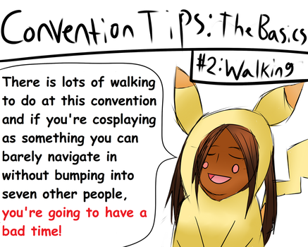 Anime Expo: Convention tips - Tip #2 by Maru-sha