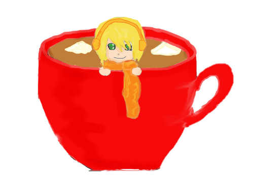 Teacup by FrozenStrawberryCake