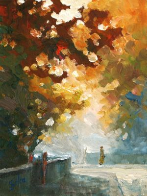 Small Autumn Impression 1 by litka