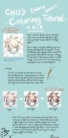 Colored Pencil Tutorial :Hair: by ChuS2