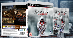 Assassin's Creed III Box Art by Birdie94jb