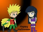 Happy Halloween by iDrawAnime102