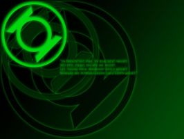 Green Lantern Oath Wallpaper by stampedeofxflames