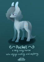 spaghetti horse by BerryDrops