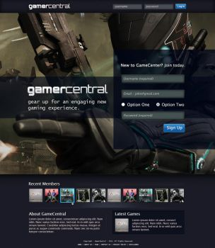 GamerCentral by bharani91