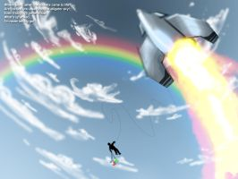 When the Rockets came to Life by GalaxyInvader