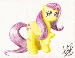 Fluttershy by subject-Delta2