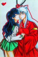 Inuyasha : Kiss of Pure Love by spogunasya