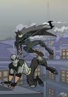Batman and Nightrunner by Granamir30