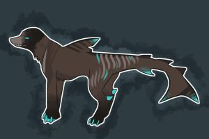 Tiger Shark Canine Adoptable by Mustang-ADOPTS