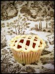Apple Pie Cupcake by dashedandshattered