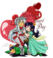 Happy Heart Day Inuyasha by roryalice