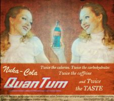Nuka Cola Quantum Poster by Ninelyn
