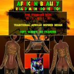 African Beauty Advertisement Redo by Sekhmet17
