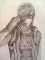 Sakon Shima (my young soldier version) by Alpha-Deux