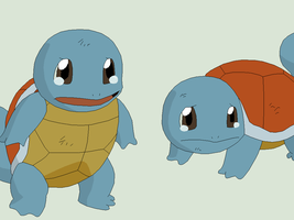 Pokemon Base 11~Squirtle 1~ by Xbox-DS-Gameboy