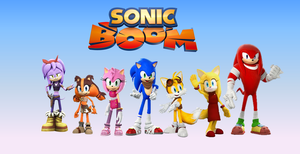 Sonic Boom (TV Series) Wallpaper by 9029561