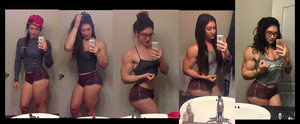 One more glance / A Girl's muscle transformation by stopwhereyouare