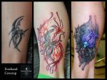 Tribal Coverup by Anderstattoo