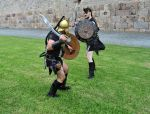 Iberian warriors stock 24 by IngwellRitter-Stock