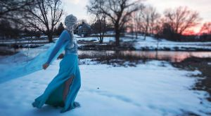 Elsa Cosplay Costume by DaniieeG