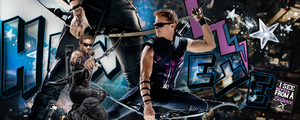 Hawkeye Avengers by VaL-DeViAnT