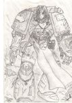 Space Marine... by Chaplain-Seraphi