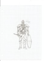 Awesome Knight Guy :0 by QuarianLifeline39