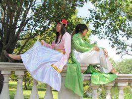 Taiwan and Vietnam from Hetalia by firecloak