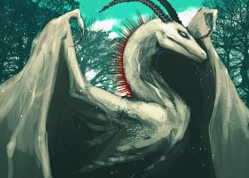 White Wyvern by adalli
