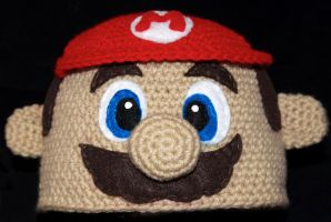 Mario Beanie by rainbowdreamfactory