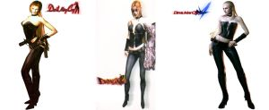Trish Evolution (In DMC) by Rehman-1999