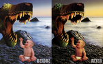 Dino Baby by JuiceGraphics